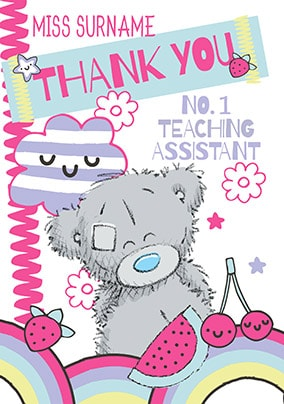 No.1 Teaching Assistant Card - Me To You