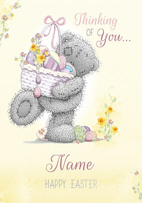 Me To You - Thinking Of You Personalised Easter Card