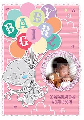 congratulations a star is born photo card