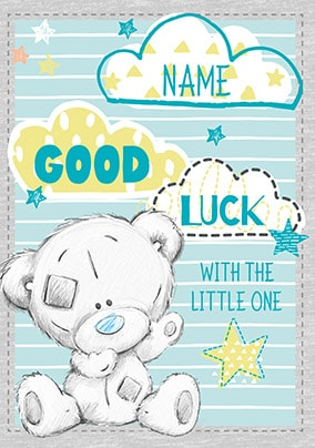 Good Luck With The Little One New Baby Card
