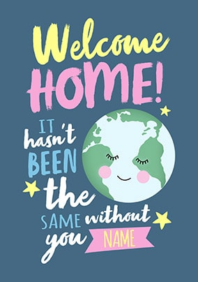 Welcome home from your travels greeting card funky pigeon welcome home from your travels greeting card m4hsunfo