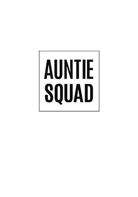 Auntie Squad Personalised Card