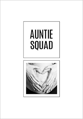 Auntie Squad Photo Card