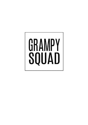Grampy Squad Personalised Card