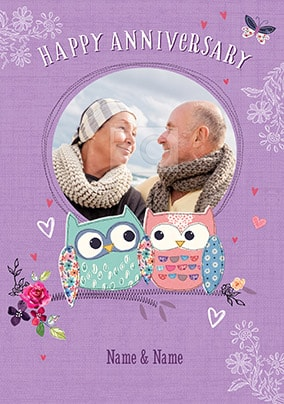 Photo Anniversary Cards Make It Special Funky Pigeon