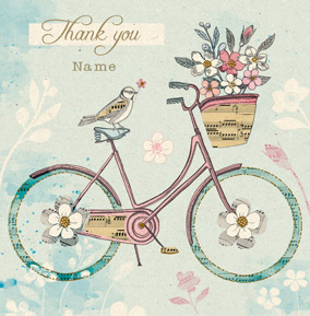 HIP - Vintage Bicycle Thank You