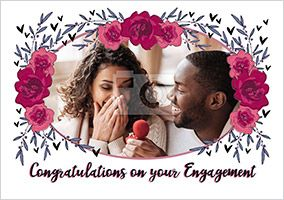 Congratulations on your Engagement Photo Card