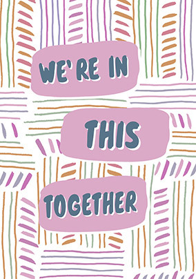 In this Together personalised Card