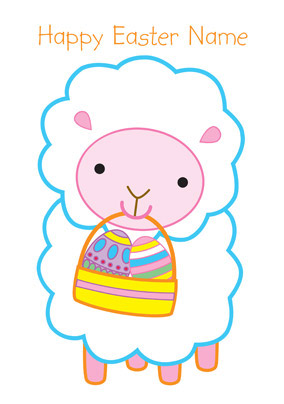 Forget Me Not - Easter Sheep