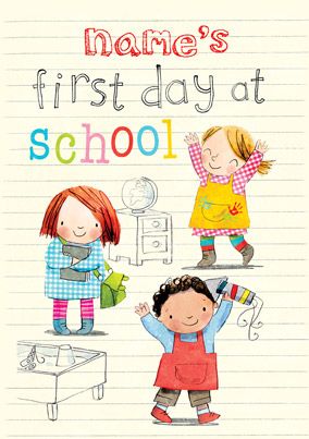 Woodmansterne - First day at School