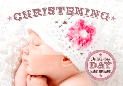 You're My Favourite - Christening Pink