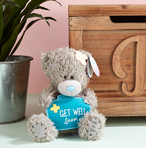 e07a2d1f40c Tatty Teddy - Get Well Soon Bear. YES. NO. preview image is not found