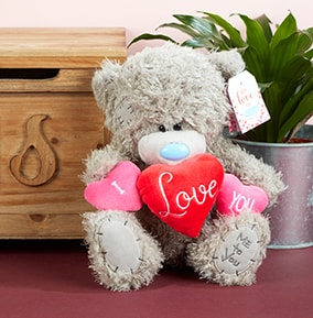 Personalised Valentine's Day Confetti Hearts Teddy Gift for Women Girlfriend Her Other Celebrations & Occasions