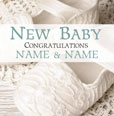 Antique Sentiment - New Baby