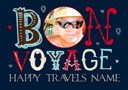 Funky Words - Bon Voyage