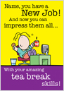 Lemon Squeezy - Tea break skills