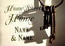 Home Sweet Home Personalised Poster