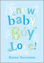 Sweet Talk - A New Baby Boy To Love