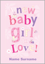 Sweet Talk - A New Baby Girl To Love