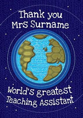 Sew 'n' Sews - World's Greatest Female Teacher