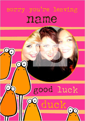 Ave A Word - Good Luck Duck