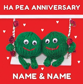 Knit & Purl - Pea's Together on Anniversary