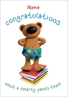 Congratulations Smarty Pants Card