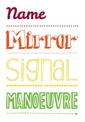 Express Yourself - Mirror, Signal, Manoeuvre