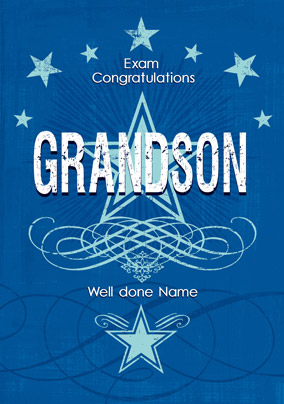 Carlton - Grandson Exam Congratulations