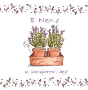 Drawn From Memory - Grandparents Day Plants
