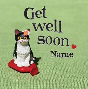 Bees Knees - Get Well Soon Cat