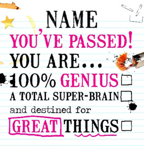 Greater Things - You Passed