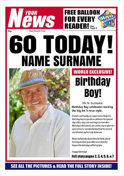 Your News - His 60th