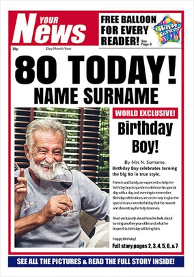 Your News - His 80th