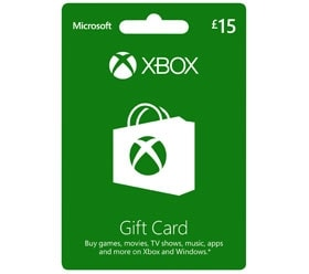 Xbox Gift Card £15