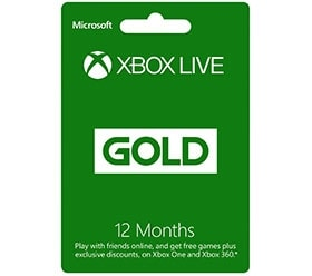 Xbox Live GOLD - 12 months