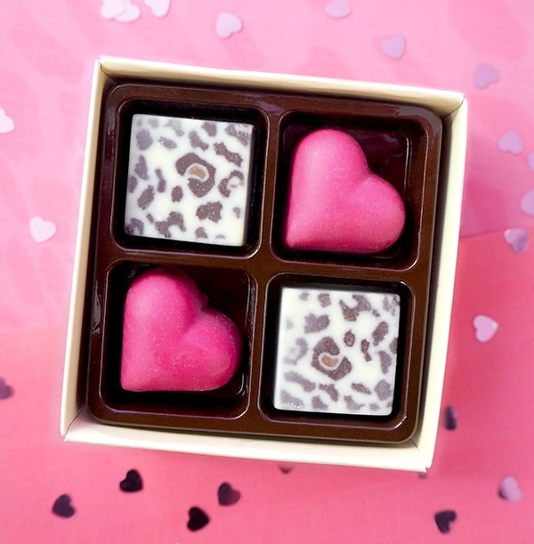 Hearts and Leopards Chocolates