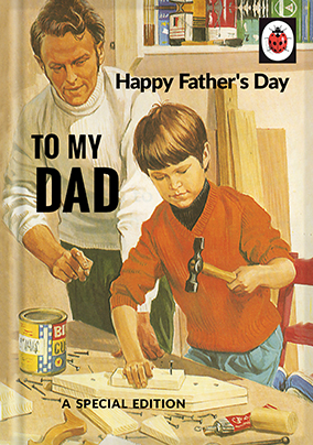 Father's Day Special Edition Ladybird Book Card