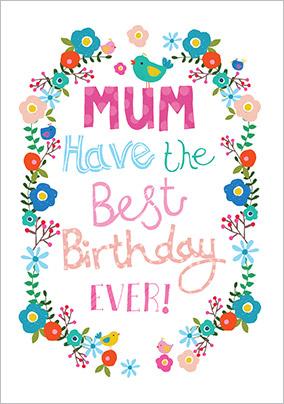 Best birthday ever mum birthday card funky pigeon best birthday ever mum birthday card m4hsunfo