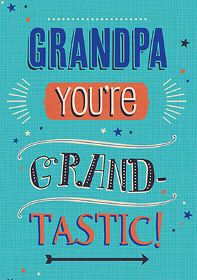 Grand Tastic Birthday Card