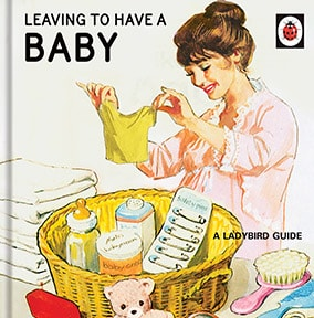 Leaving To Have A Baby - Ladybird Card