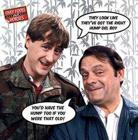 Delboy and Rodney Trotter Birthday Card