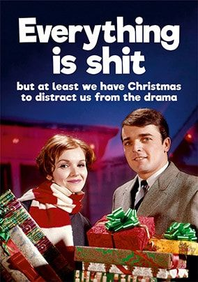 Everything is sh*t Christmas Card