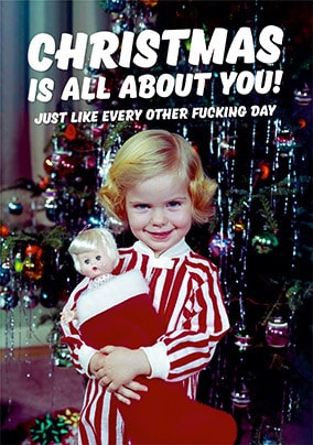 Christmas is all about You Card