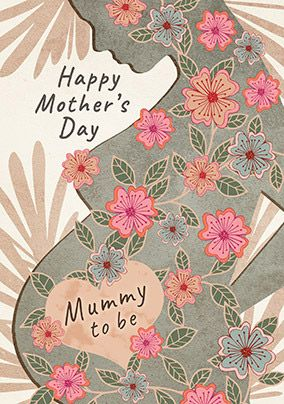 Happy Mother's Day Mummy To Be Card