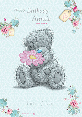 Auntie Me To You Birthday Card