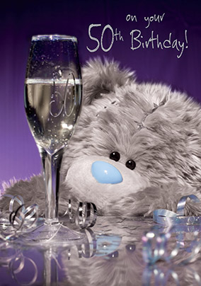 On Your 50th Me To You Birthday Card