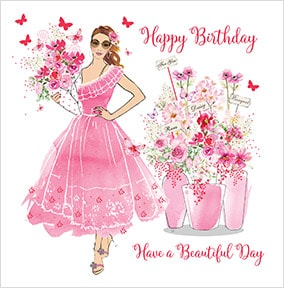 Have A Beautiful Day Birthday Card