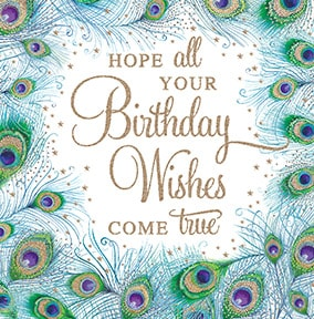 Birthday Wishes Come True Card