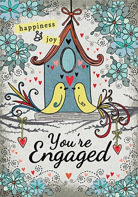 Happiness and Joy Engagement Card